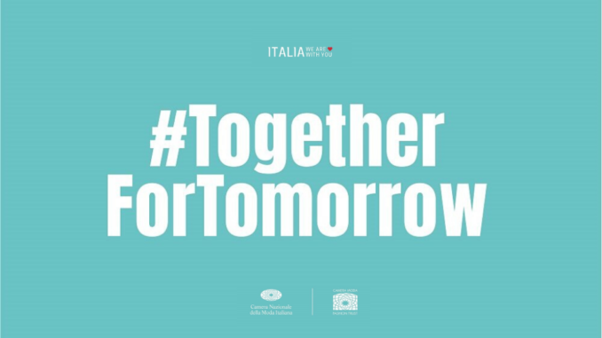 #togetherfortomorrow - Gossip News Italia
